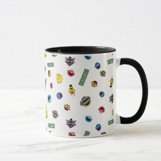 Sesame Street Character Pattern Mug