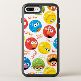 Sesame Street Circle Character Pattern OtterBox Symmetry iPhone 7 Plus Case