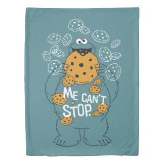 Sesame Street | Cookie Monster - Me Can't Stop Duvet Cover