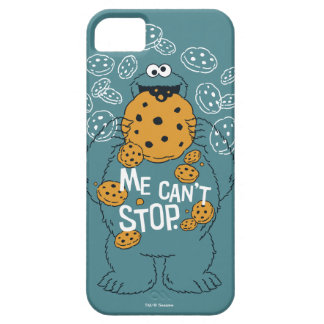 Sesame Street | Cookie Monster - Me Can't Stop iPhone 5 Case