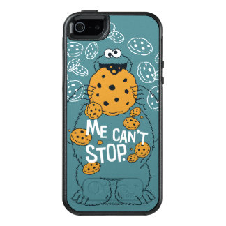 Sesame Street | Cookie Monster - Me Can't Stop OtterBox iPhone 5/5s/SE Case
