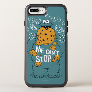 Sesame Street | Cookie Monster - Me Can't Stop OtterBox Symmetry iPhone 8 Plus/7 Plus Case