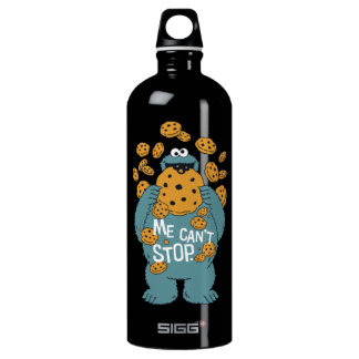 Sesame Street | Cookie Monster - Me Can't Stop Water Bottle
