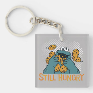 Sesame Street | Cookie Monster - Still Hungry Double-Sided Square Acrylic Keychain