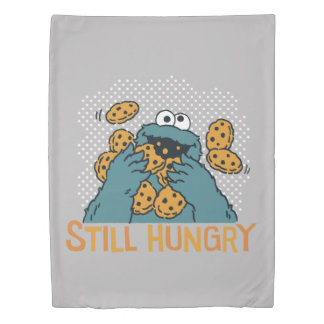 Sesame Street | Cookie Monster - Still Hungry Duvet Cover