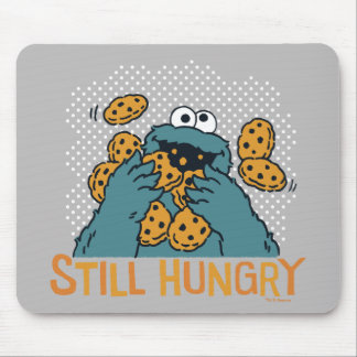 Sesame Street | Cookie Monster - Still Hungry Mouse Pad
