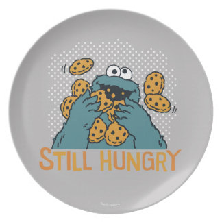 Sesame Street | Cookie Monster - Still Hungry Party Plate