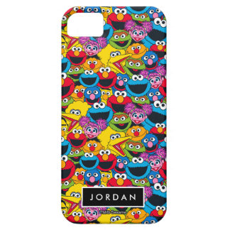 Sesame Street Crew Pattern | Add Your Name iPhone 5 Cases