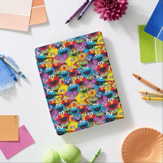 Sesame Street Crew Pattern iPad Cover