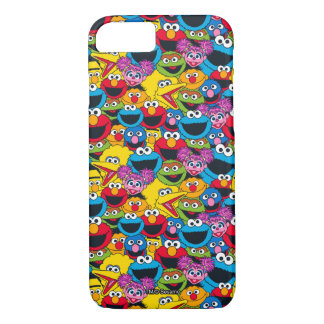 Sesame Street Crew Pattern iPhone 7 Case