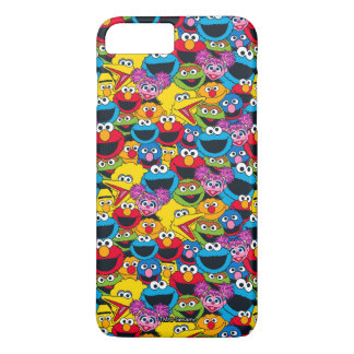 Sesame Street Crew Pattern iPhone 8 Plus/7 Plus Case