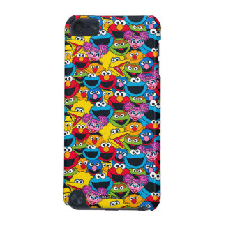 Sesame Street Crew Pattern iPod Touch (5th Generation) Case