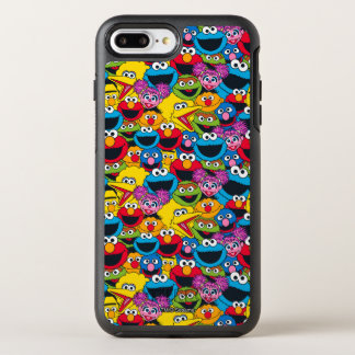 Sesame Street Crew Pattern OtterBox Symmetry iPhone 8 Plus/7 Plus Case
