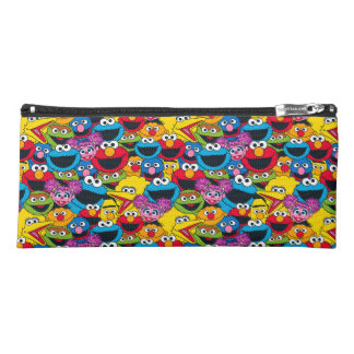 Sesame Street Crew Pattern Pencil Case