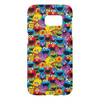 Sesame Street Crew Pattern Samsung Galaxy S7 Case