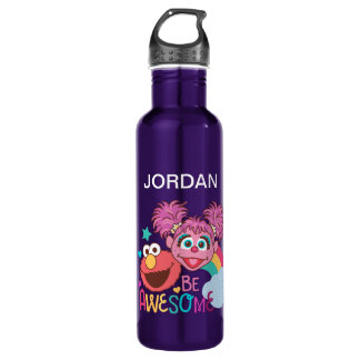 Sesame Street | Elmo & Abby - Be Awesome 710 Ml Water Bottle