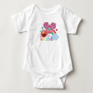 Sesame Street | Elmo & Abby - Be Awesome Baby Bodysuit
