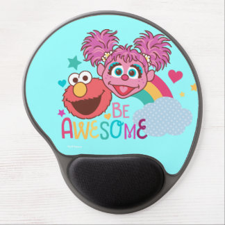 Sesame Street | Elmo & Abby - Be Awesome Gel Mouse Pad