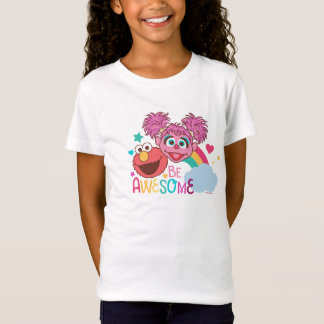 Sesame Street | Elmo & Abby - Be Awesome T-Shirt