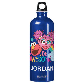 Sesame Street | Elmo & Abby - Be Awesome Water Bottle