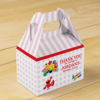 Sesame Street | Elmo and Pals - Birthday Balloons Favor Box