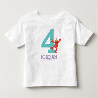 Sesame Street   Elmo - Confetti 4th Birthday Toddler T-shirt