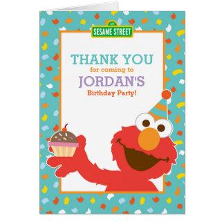 Sesame Street   Elmo - Confetti Thank You Card