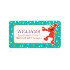 Sesame Street | Elmo - Cupcake & Confetti Birthday Label