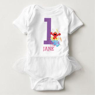 Sesame Street | Elmo Girl's 1st Birthday Baby Bodysuit
