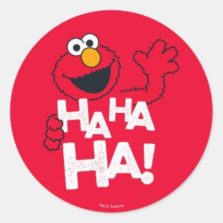 Sesame Street | Elmo - Ha Ha Ha! Classic Round Sticker