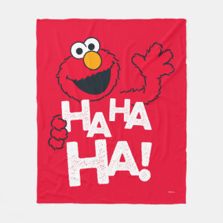 Sesame Street | Elmo - Ha Ha Ha! Fleece Blanket