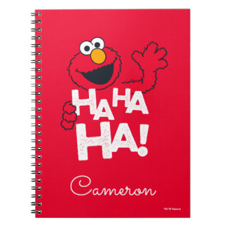 Sesame Street | Elmo - Ha Ha Ha! Notebook