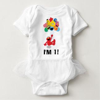 Sesame Street | Elmo & Pals - 1st Birthday Baby Bodysuit