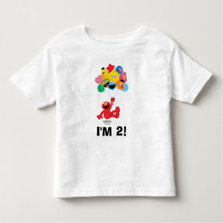 Sesame Street | Elmo & Pals - 2nd Birthday Toddler T-shirt