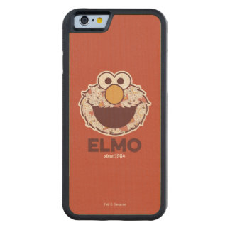 Sesame Street | Elmo Since 1984 Carved Maple iPhone 6 Bumper Case