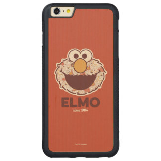 Sesame Street | Elmo Since 1984 Carved® Maple iPhone 6 Plus Bumper Case