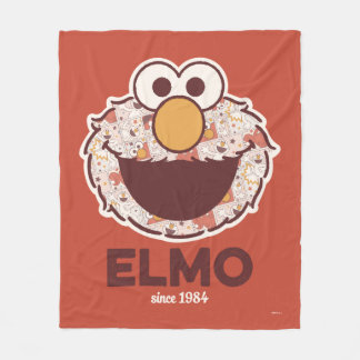 Sesame Street | Elmo Since 1984 Fleece Blanket