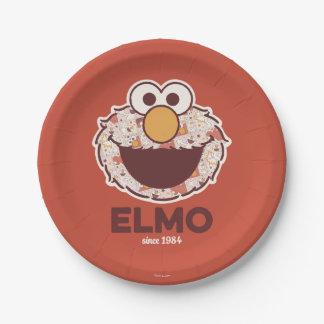 Sesame Street   Elmo Since 1984 Paper Plate