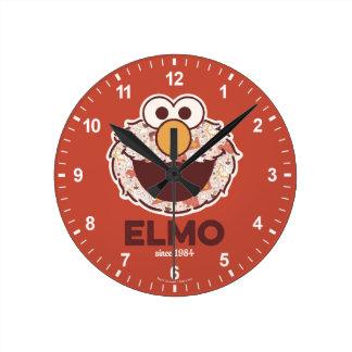Sesame Street | Elmo Since 1984 Round Clock
