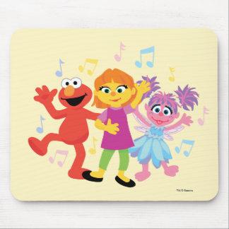 Sesame Street | Julia, Elmo & Abby Dancing Mouse Pad