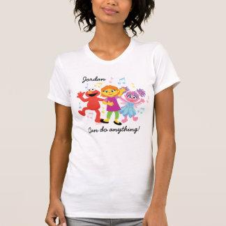 Sesame Street | Julia, Elmo & Abby Dancing T-Shirt