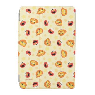 Sesame Street | Julia & Elmo Yellow Star Pattern iPad Mini Cover