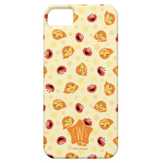Sesame Street | Julia & Elmo Yellow Star Pattern iPhone 5 Case