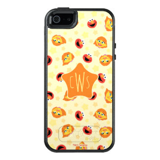Sesame Street | Julia & Elmo Yellow Star Pattern OtterBox iPhone 5/5s/SE Case
