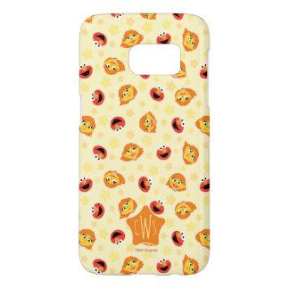 Sesame Street | Julia & Elmo Yellow Star Pattern Samsung Galaxy S7 Case