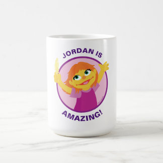 Sesame Street | Julia Holding Feather Coffee Mug