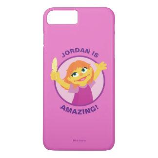 Sesame Street | Julia Holding Feather iPhone 8 Plus/7 Plus Case