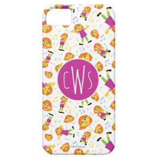Sesame Street | Julia Music Pattern iPhone 5 Case