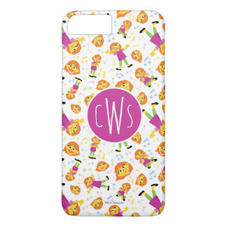 Sesame Street | Julia Music Pattern iPhone 8 Plus/7 Plus Case