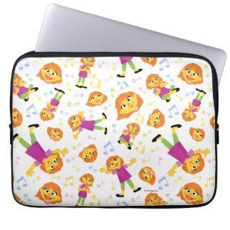 Sesame Street | Julia Music Pattern Laptop Sleeve